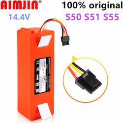 Original Robotic Vacuum Cleaner Replacement Battery for Xiaomi Robot Roborock S50 S51 S55 Accessory Spare Parts Li-ion Battery