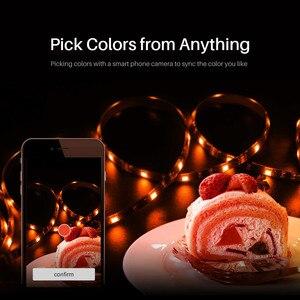 Image 4 - SONOFF L1 스마트 RGB LED 라이트 스트립 5050 5M 2M 디 밍이 가능한 방수 와이파이 유연한 다채로운 스트립 조명 알렉사 구글 홈