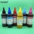 6 цветов x 100 мл универсальный набор сублимационных чернил с теплопередачей для настольного струйного принтера Epson высокого качества