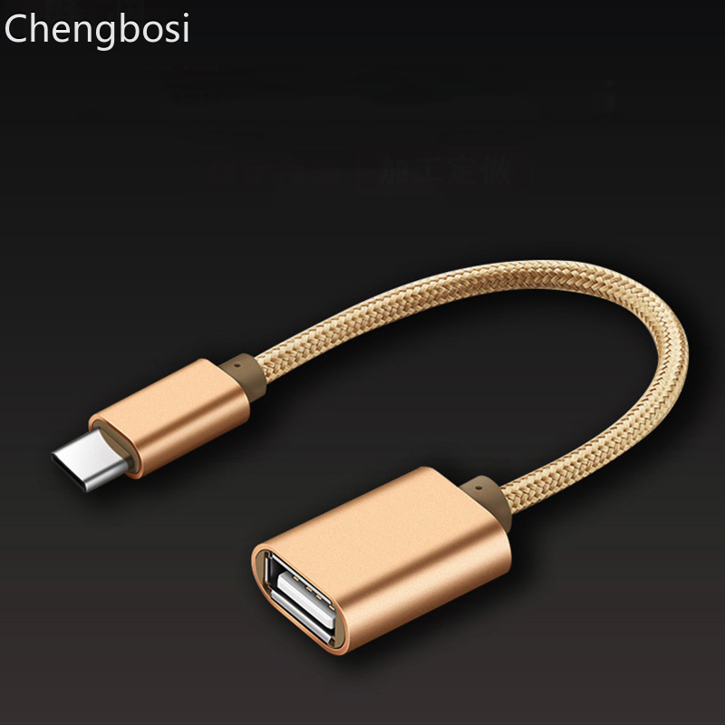 15CM Type-C OTG Adapter Cable USB 3.1 Type C Male To USB 3.0 A Female OTG Data Cord Adapter Mobile Phone Accessories