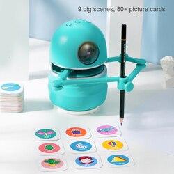Лидер продаж, китайский Волшебный Робот для рисования, детские развивающие игрушки, студенческие Обучающие инструменты для рисования, робо...