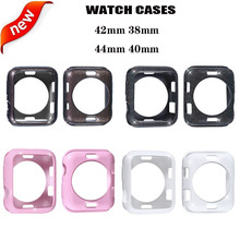 Anti-fall case cover for apple watch 42/38mm protective Bumper iwatch 40/44mm serie 4 3 2 1 protection Accessory