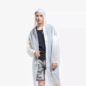 Image 3 - シャオ mi mi Zaofeng ポータブル EVA 折りたたみレインコート超軽量防水レインウェアフード袖ポンチョ屋外キャンプから Youpin