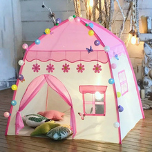 Baby Princess Game House Flowers Blossoming Boy Girl Oversized House Folding Game tent Kids Indoor Outdoor Castle Tent Gifts