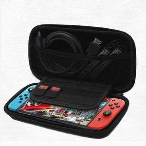 Image 1 - แบบพกพาNSอุปกรณ์เก็บกระเป๋าEVA Hard Shellซิปกรณีกระเป๋าเดินทางHandle Carry CaseสำหรับNintendo Switch