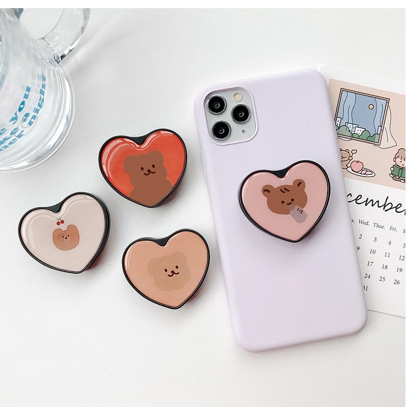 Cute Cartoon Ring Stand Mobile Phone Folding Stand Mobile Phone Stand Mobile Phone Holder Base For IPhone X 8 7 Xiaomi