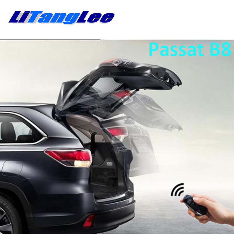 LiTangLee Car Electric Tail Gate Lift Trunk Rear Door Assist System For Volkswagen Passat B8 2015~2010 Key Remote Control