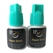 5pcs/Lot 0.5s Eyelash Extension Glue Hyper Bond Glue for lashes Fast Drying Eyelashes Glue Black Adhesive Retention wholesale(China)