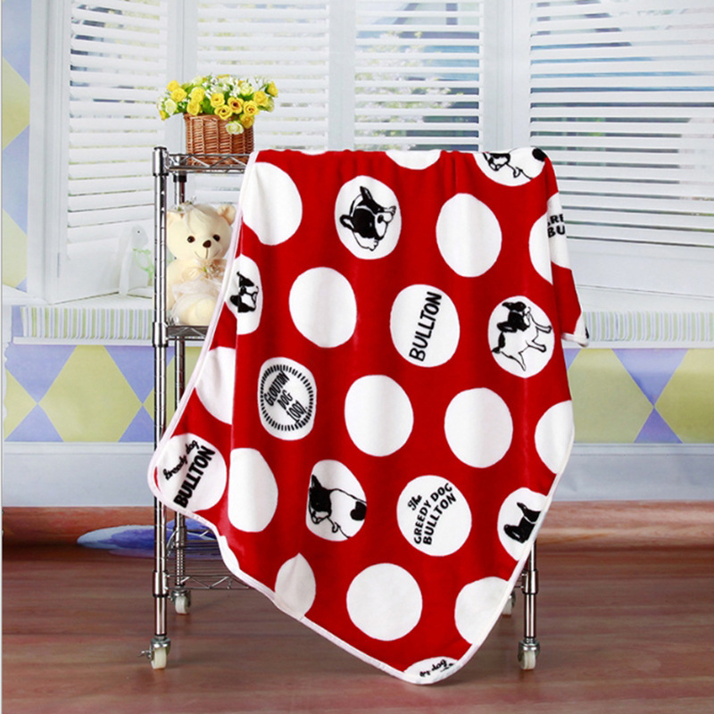 Super Soft Flannel Pet Blanket Bed Thicken Dog Cushion Puppy Kitty Shower Towel Cute Home Rug Warm Sleeping Cover Pet Supplies 8