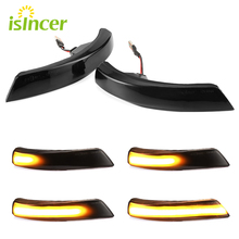 Dynamic Turn Signal LED Rearview  Side Mirror Sequential Indicator Blinker For Ford Focus 2 3 Mk2 Mk3 Mondeo Mk4 Car Light