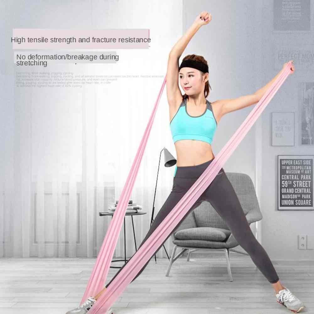 Yoga Pilates Mat spor salonu yastık pedi 4mm kaymaz elastik bant Mat çanta kapalı egzersiz vücut geliştirme kaybetmek ağırlık spor