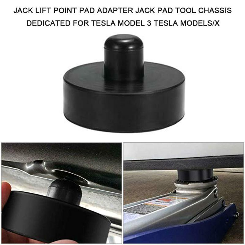 1 Pc Vehicle Car Jack Pad For Model 3 Jack Lift Pad Adapter Tool Protects Battery & Chassis Auto Car Accessories
