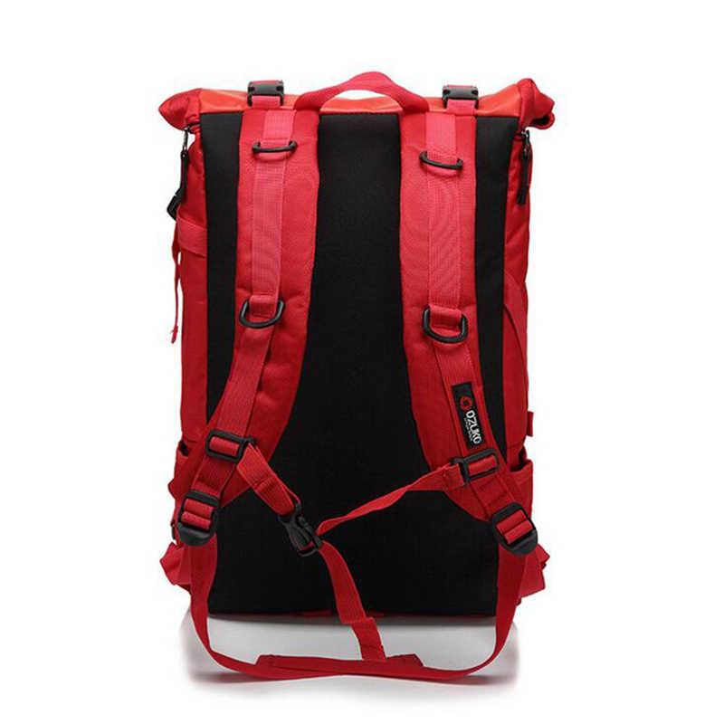 "OZUKO Backpack Men's Designer Laptop Backpack High Quality Waterproof 14"" Notebook Anti Theft Backpack Women Travel Luggage Bags"