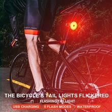 Велосипедный спорт задние фары горного велосипеда зарядка через usb Предупреждение светильник дорожный велосипед ночной езды хвост светильник дыхательный светильник для верховой езды оборудование