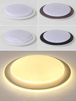 Modern Round LED Panel Lamp LED Ceiling Light Down Light Surface Mounted AC 110-220V Lamp Home Lighting Indoor Light Fixtures