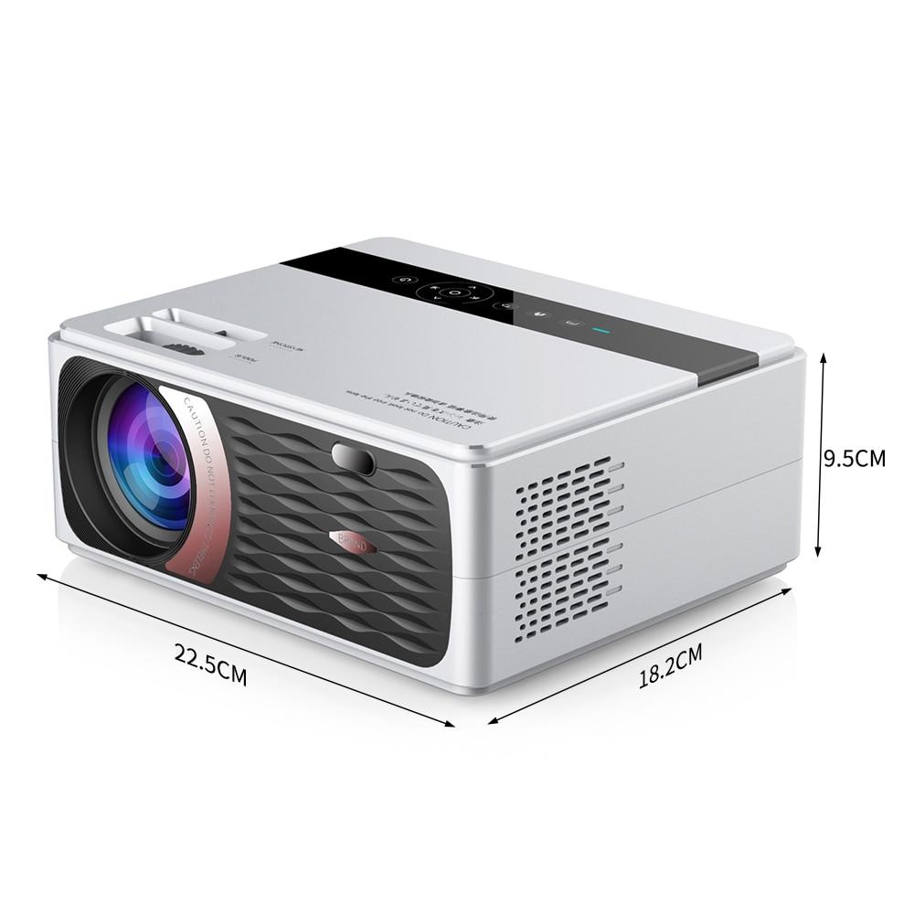 UNIC CP600 55W Full HD 1080P Projector 4K 8000 Lumens Cinema Proyector Beamer for Android WiFi hdmi VGA AV USB port - 6