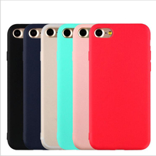 Luxury Soft Back Matte Color Cases for iPhone 7 plus 8 6 6s X XS max XR 5  SE 11 2019 Case Shockproof TPU Silicone Back Cover цена и фото