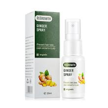 Имбирный спрей для роста волос, жидкость для быстрого роста волос, лечение против выпадения, Имбирная эссенция для предотвращения выпадени...