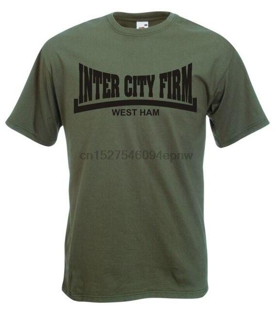 T-Shirt ferme Inter City-Football 1980s ICF Hooligan-toutes tailles et couleurs