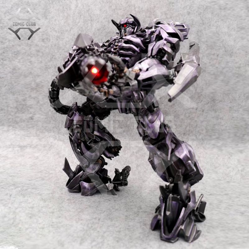 COMIC CLUB BMB AOYI ZS01 ZS-01 Universe Guardian SS Shock Wave Transformation Alloy Oversize Action Figure Robot Toy