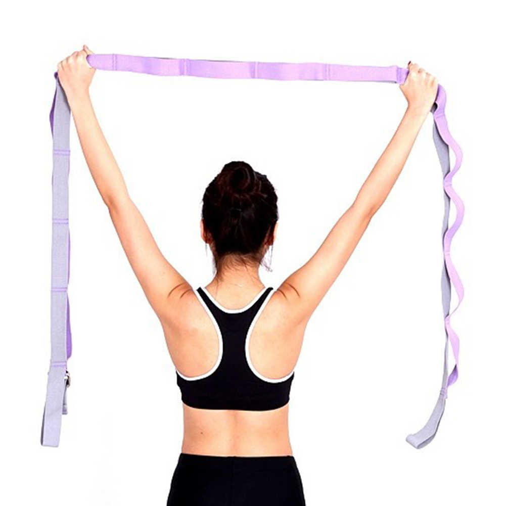 Stretch Exercise Beginner Yoga Dance Press Lacing Ligament Stretch Cross Fork Open Fork Word Trainer Workout Elastic Bands Aliexpress