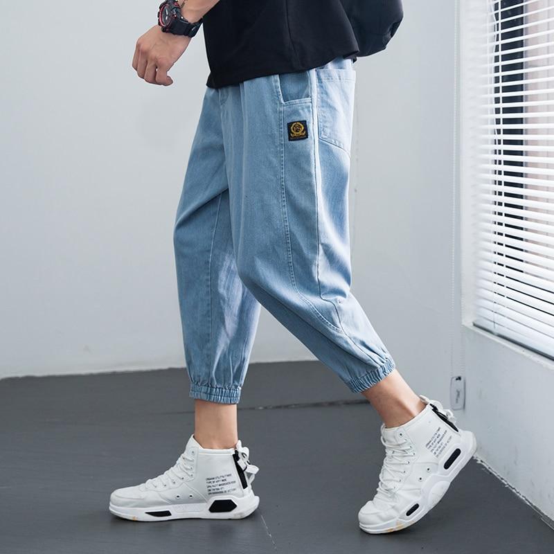 Men's Vintage Jeans plus size Hip Hop Blue Jean for Men Mens Denim Pants Men Fashion 2020 Trousers