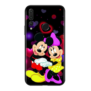 Image 2 - Silicone Cover Disney Cute Mickey Mouse For Huawei Honor 9 X 9N 8S 8C 8X 8 A V9 7S 7A 7C Pro lite Prime Play 3E Phone Case