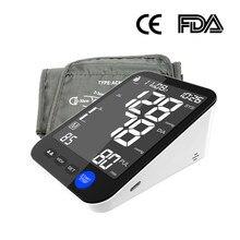 2021 novo design braço superior monitor de pressão arterial inteligente esfigmomanômetro 10 anos de fábrica fornecer diretamente ce aprovado tensiometro