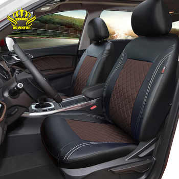 New Luxury PU Leather Auto Universal Car Seat Covers Automotive Seat Covers for Chery tiggo7 Mazda Ford hyundai Toyota Nissan - DISCOUNT ITEM  37 OFF Automobiles & Motorcycles