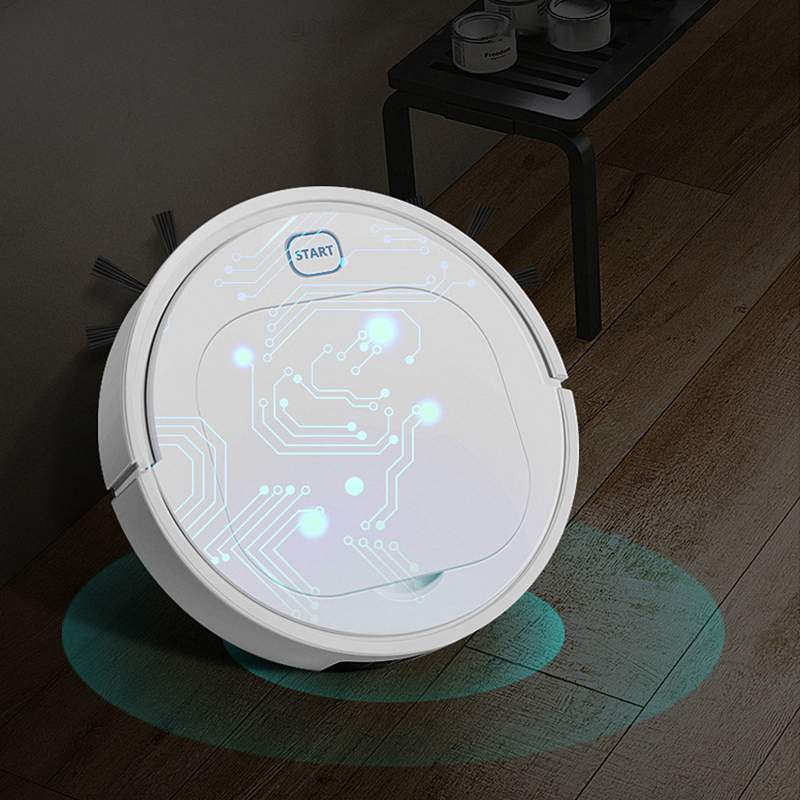 3 In 1 Smart Robot Vacuum Cleaner Sweep Mop Suction Sweep Vacuum 1800Pa 1200mAH 45dB Low Noise For Home Cleaning