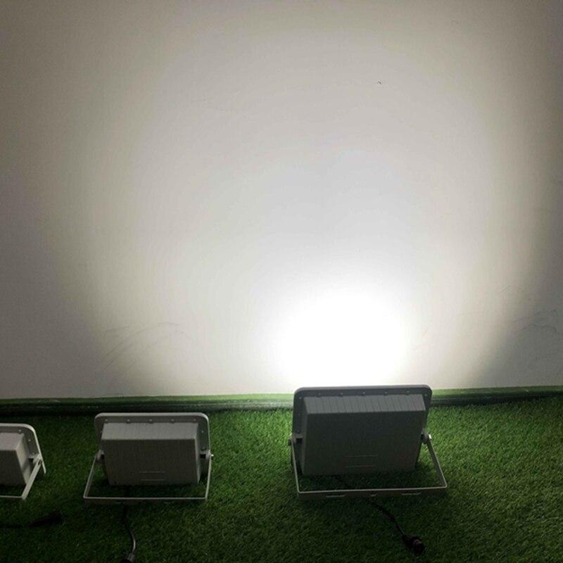 Ha condotto la Luce Solare Luce di Inondazione 60W 120W 200W Solare Floodllight Esterna Impermeabile di Sicurezza del Sensore di Luce con Telecomando di controllo - 6