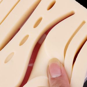 Image 5 - Silicone Human Skin Model Suture Practice Pad Training Practice Tool