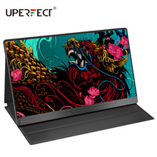 UPERFECT 15,6 Inch Tragbare Monitor IPS HDR 1920X1080 FHD Auge Pflege Bildschirm USB C Gaming Display Dual Lautsprecher Für Computer PC