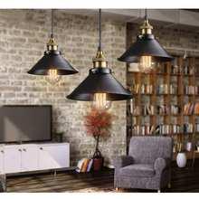 22cm Vintage país luces de techo Led lámpara de techo desván hierro hogar Bar Café lámpara iluminación para la decoración de la sala de estar