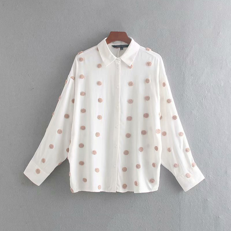 Vintage Women White Lace Floral Blouses 2019 Fashion Ladies Batwing Sleeve Embroidery Elegant Shirts Sweet Female Feminine Tops
