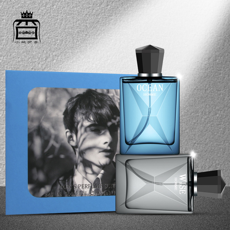 50ml Perfumed Men Classic Cologne Pheromone Parfum Male Body Spray Atomizer Scent Long Lasting Original Fragrance Elagent