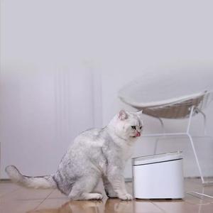 Image 5 - Xiaomi Xiaowan לחיות מחמד מתקן מים כלב חתול חשמלי שתיית קערת מזרקת אוטומטי חתול מים חיים 2L להתחבר חכם MIJIA APP