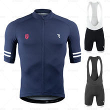 2021 RYZON Cycling Jersey Pro Team Cycling Clothing Suits MTB Cycling Clothes Bib Shorts Set Men Bike Ropa Ciclismo Triathlon