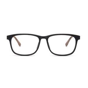 Image 5 - HDCRAFTER وصفة النظارات الإطار الرجال والنساء خشبية الموضة الرجعية النظارات البصرية النظارات إطار نظارات