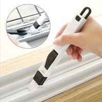 Cepillo de limpieza de surcos para ventana, limpiador de ranura para Windows, teclado, pala antipolvo, limpiador de carril, herramientas de limpieza del hogar
