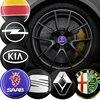 4 pièces 56mm autocollants de capuchon de moyeu central de roue de voiture pour AMG Mercedes Benz A C E R M classe CLA GLA W204 W210 W124 W205 W203 Gadget automatique