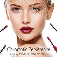 MISS ROSE 20 couleurs 2 en 1 Double tête hydrater rouge à lèvres lèvre Liner stylo 24H longue durée étanche lèvre TSLM1