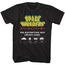 Nuevo juego de Arcade electrónico Space Invaders Camiseta Vintage Aliens Taito