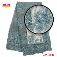 Lace Embroidery Fabric Dresses, Nigeria Lace Handmade Lace Fabric, Wedding Dresses Bridal Luxury Lace Mr2850b - DISCOUNT ITEM  35% OFF Home & Garden