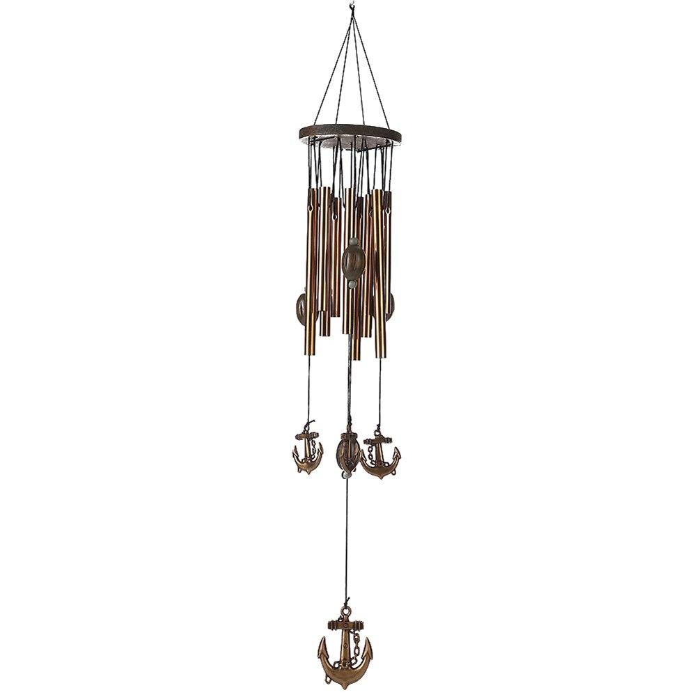 Hanging Metal Owl Wind Chimes Bell Yard Garden Home Outdoor IndoorDecoration