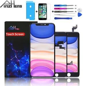Image 1 - Pinzheng Aaaa Screen Lcd scherm Voor Iphone 4 4s 5 5c 5S Se 6 6S 7 8 Plus X lcd Beeldscherm Digitizer Met 3D Touch Vervanging Lcd