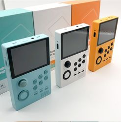 2020 Powkiddy A19 Pandora 'S Box Android Supretro Handheld Game Console Ips Scherm Ingebouwde 3000 + Games 30 3D Games wifi Downloaden