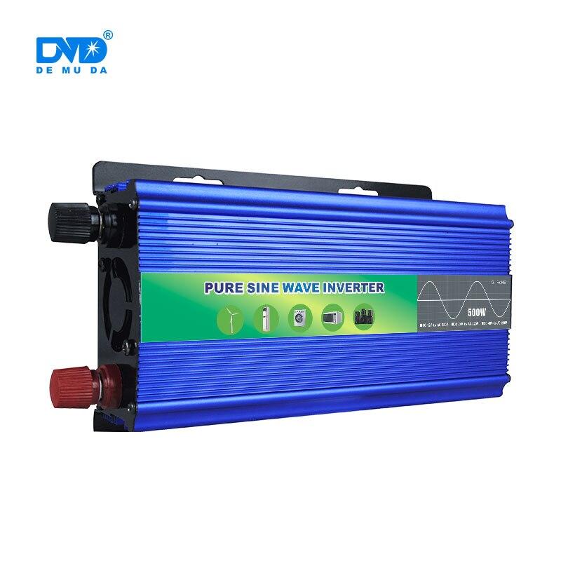 OEM sortie d'usine dc24v à ac220 pur onduleur à onde sinusoïdale 500w avec le meilleur service
