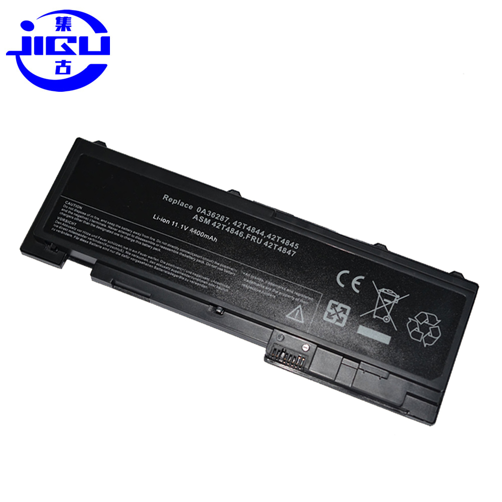 JIGU 4400mah Laptop Battery For Lenovo 0A36287 42T4845 ThinkPad T420s T420si 4171-A13 11.1V ASM 42T4846 FRU 42T4847