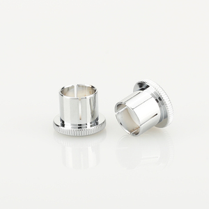 Image 1 - Hi End Brass Noise Stopper Rhodium Plated Copper RCA Plug Caps